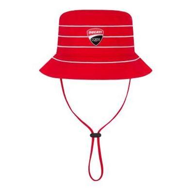 Chapeau enfant Ducati Corse rouge