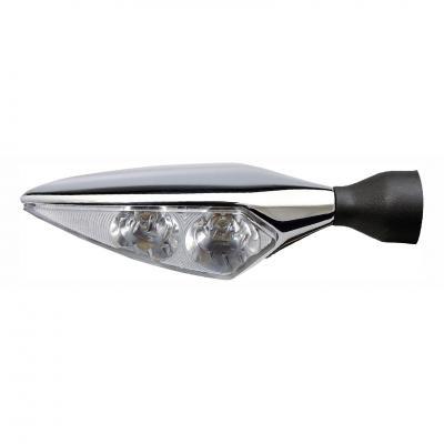 Clignotant LED Kellermann Micro Rhombus Extreme chromé AV D ou AR G