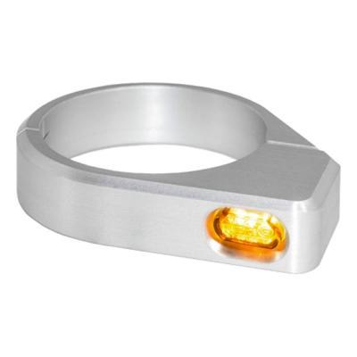 Clignotants de fourche Heinz Bikes Micro LED alu Ø 54 – 56 mm
