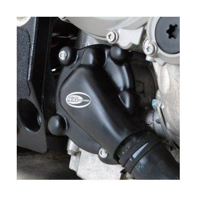 Couvre carter de pompe à eau R&G Racing noir BMW S 1000 RR 10-18