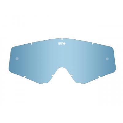 Écran de rechange fumé/Spectra bleu clair anti-buée pour masque SPY Omen