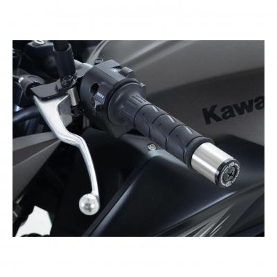 Embouts de guidon R&G Racing noir Kawasaki Z 750 04-13
