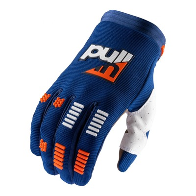 Gants cross Pull-in Challenger navy/orange