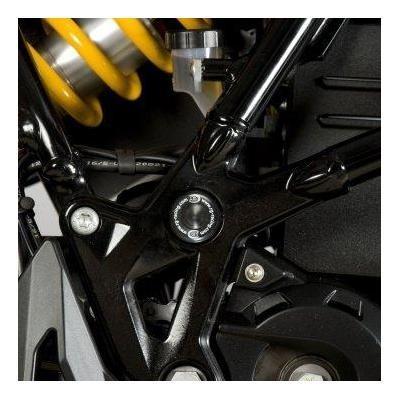 Insert de cadre droit R&G Racing noir BMW F 800 GS 08-18