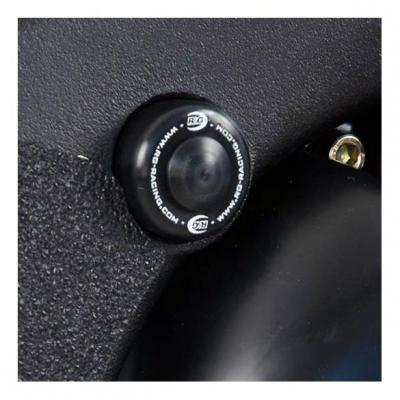 Insert de cadre droit R&G Racing noir Yamaha YZF-R6 17-18