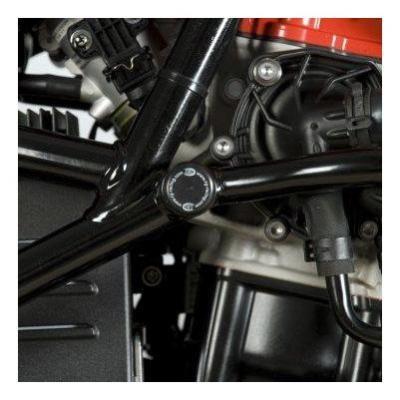 Insert de cadre gauche R&G Racing noir BMW F 800 GS 08-18