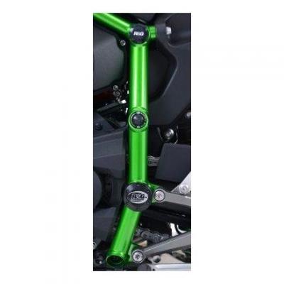 Inserts de cadre R&G Racing noir Kawasaki H2R 15-18