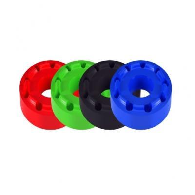 Inserts de tampons de protection Lightech caoutchouc Ø 50 mm vert