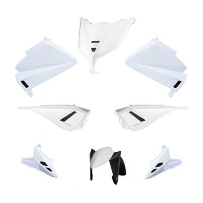Kit carénage BCD sans poignées / sans rétro Tmax 530 12-14 blanc