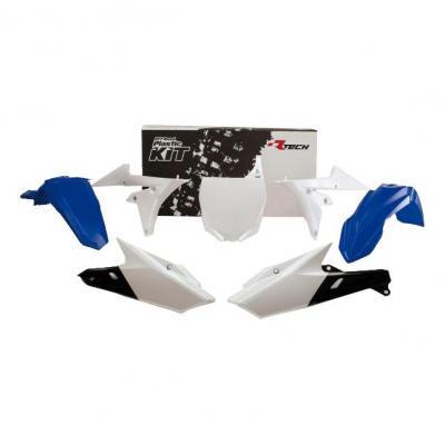 Kit plastique RTech couleur d'origine bleu et blanc pour Yamaha YZ250F 14-16