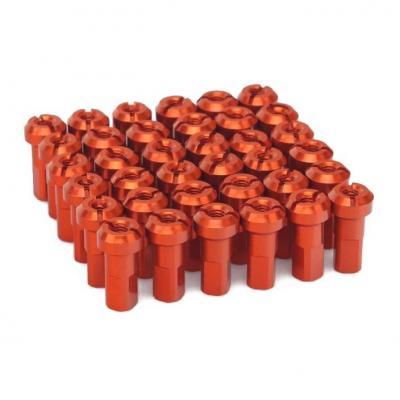 Kit têtes de rayon universel anodisées ART orange (36 pièces)