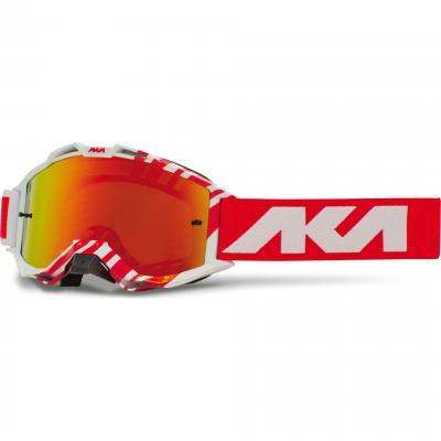 Masque cross AKA Vortika Race rouge/blanc