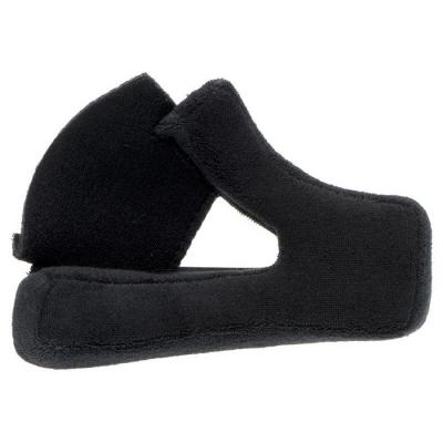 Paires de coussinets de joue pour casque Bell Moto 3 Suédé noir