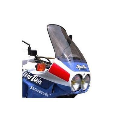Pare-brise Bullster haute protection 45 cm fumé gris Honda Africa Twin 650 88-90
