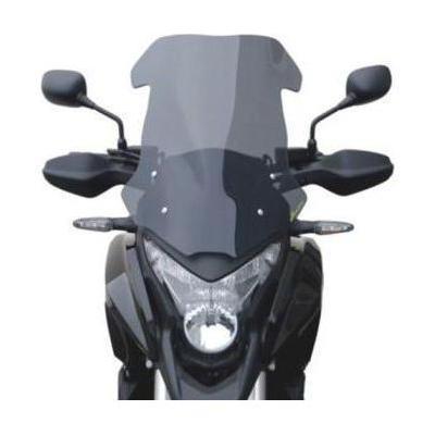 Pare-brise Bullster haute protection 48,5 cm incolore Honda VFR1200X Crosstourer 12-14