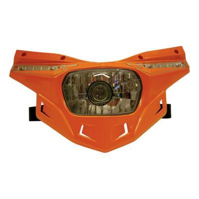 Partie inférieure de la plaque phare UFO Stealth orange (orange KTM 98-19)