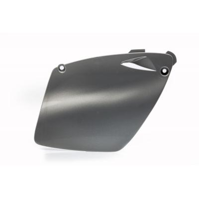 Plaques numéro latérales Acerbis KTM 125/200 EXC 98-03 argent (paire)