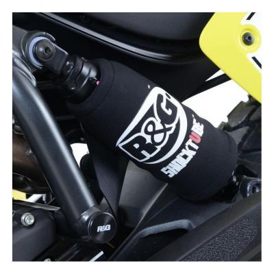 Protection d'amortisseur R&G Racing noire Triumph Sprint GT 1050 11-18