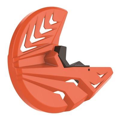 Protection disque avant + bas de fourche Polisport KTM 125 SX 15-19 orange