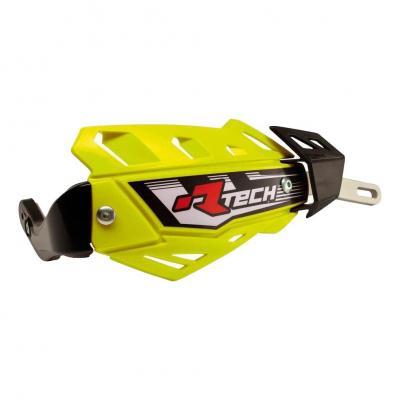 Protège-mains intégraux FLX RTech Jaunes fluo