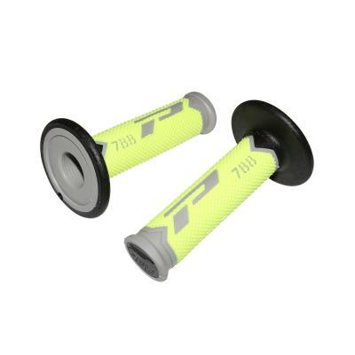 Revêtements de poignée Progrip 788 gris/jaune fluo/noir