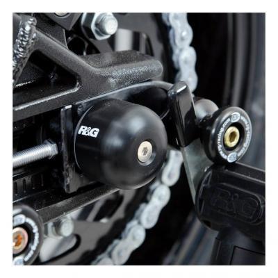 Tampons de bras oscillant R&G Racing noir BMW S 1000 RR 11-18