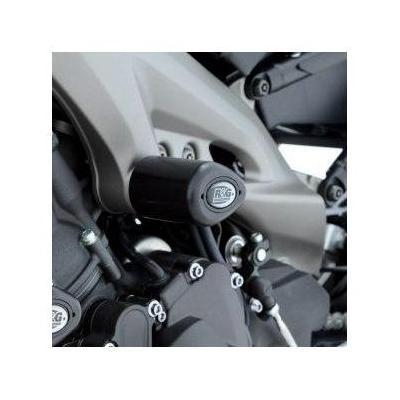 Tampons de protection R&G Racing Aero centrales noir Yamaha MT-09 13-18