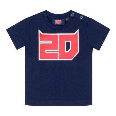 Tee-shirt bébé Fabio Quartararo 20 bleu