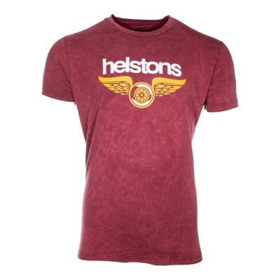 Tee-shirt Helstons Wings bordeaux