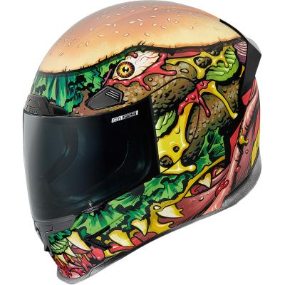 Casque intégral Icon Airframe Pro Fastfood multicolore