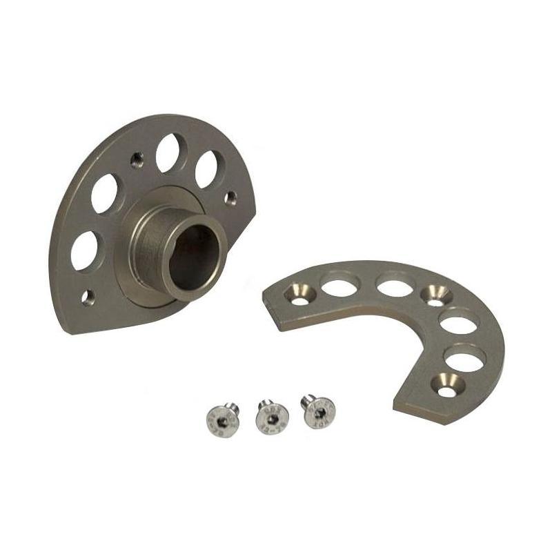 Kit de montage RTech pour protection disque de frein KTM 125 SX 04-14 aluminium