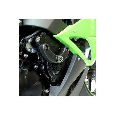 Slider moteur droit R&G Racing noir Kawasaki ZX-6R 09-12