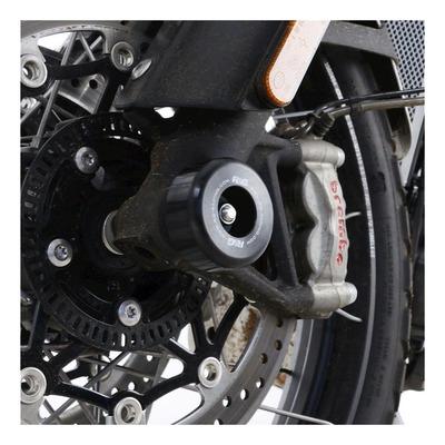 Tampons de protection de fourche R&G Racing noir Triumph Scrambler 1200 XC 19-20