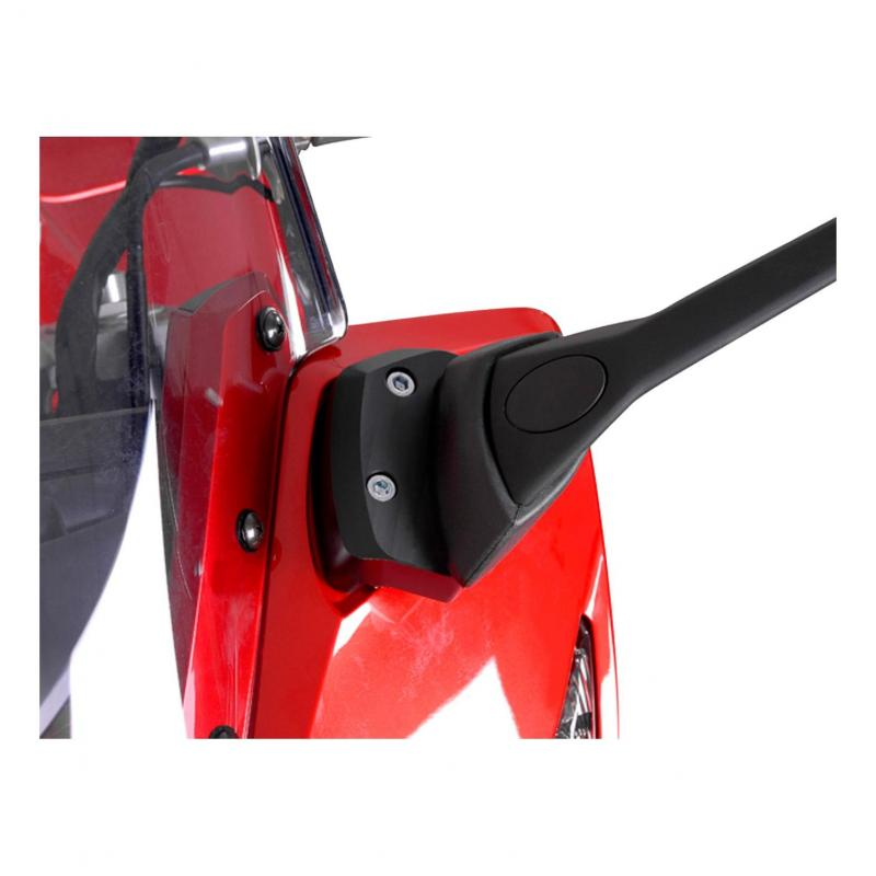 Extensions de rétroviseur SW-MOTECH Profile noir Yamaha FZ1 Fazer 08-
