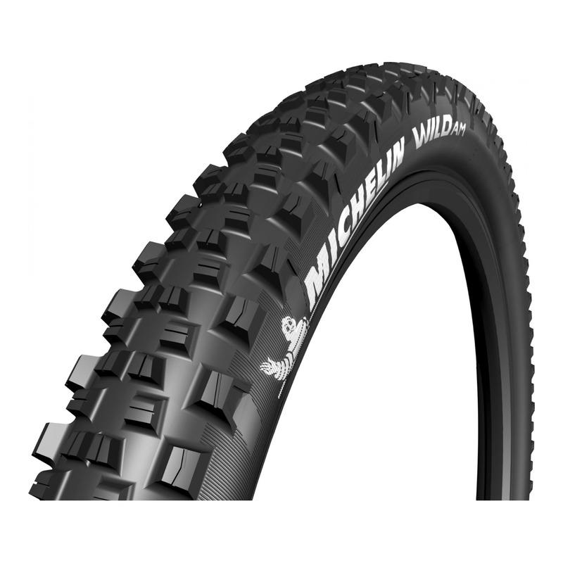 Pneu vélo VTT Michelin Wild AM Performance Tubeless Ready TS noir (27.5X2.60'')