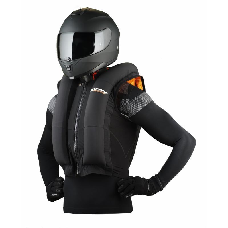 Airbag Ixon IX-Airbag U03 noir/orange - 5