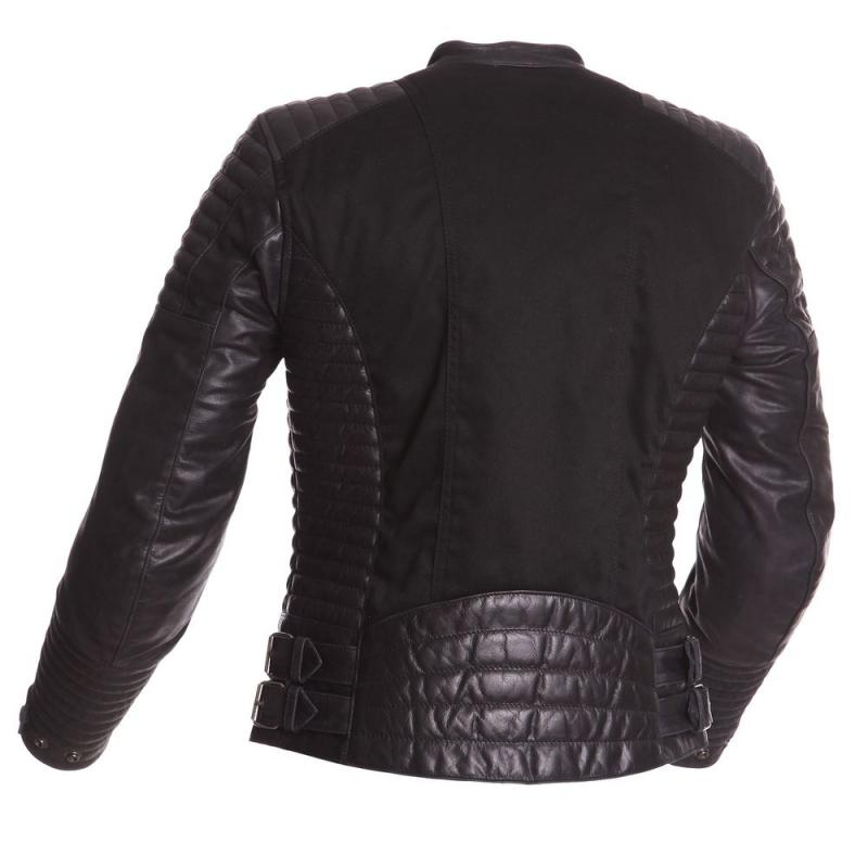 blouson cuir femme bering noir