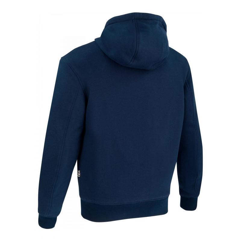 Blouson textile Bering Hoodiz marine - 1