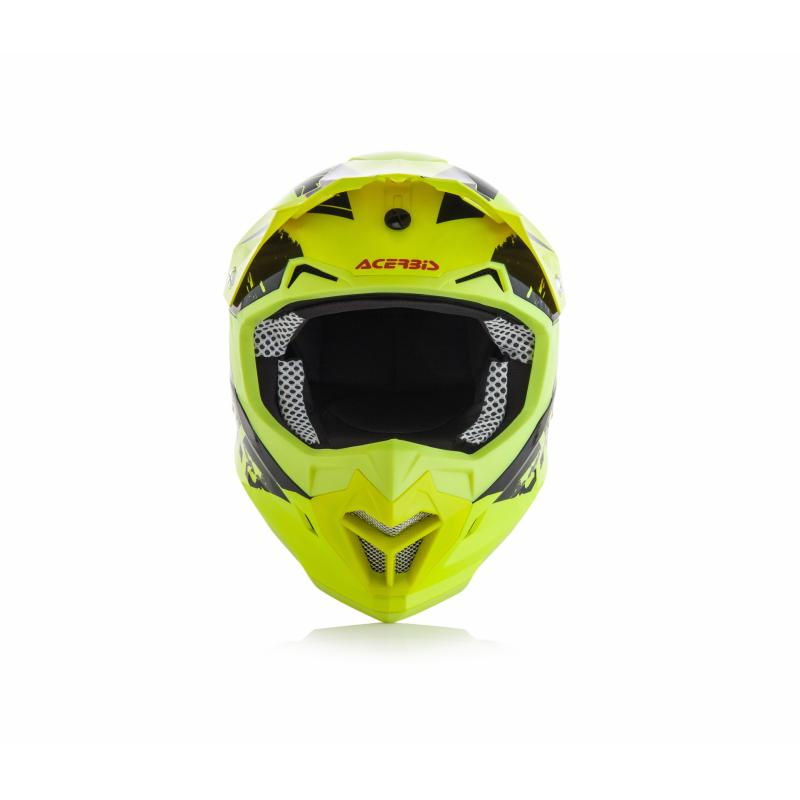 Casque cross Acerbis Profile 4 jaune/noir - 1