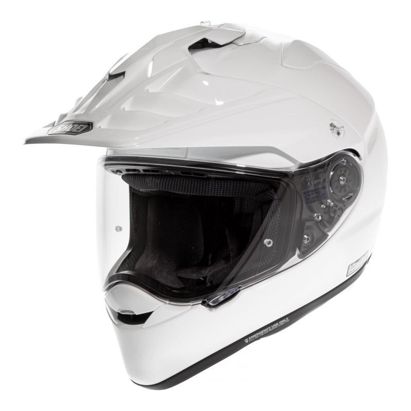 Casque intégral Shoei Hornet ADV blanc