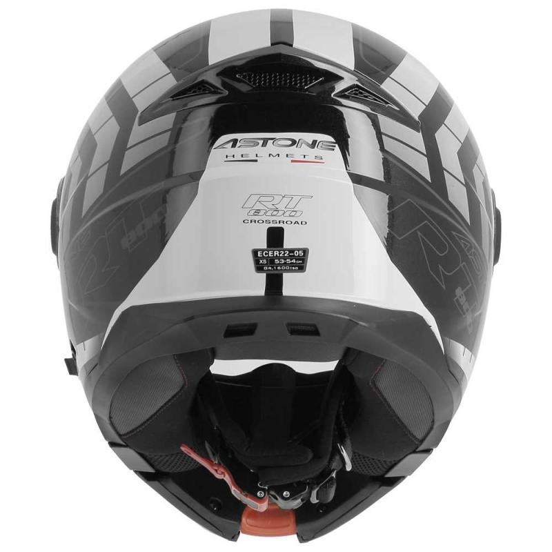 Casque modulable Astone RT800 exclusive CROSSROAD noir/anthracite - 3