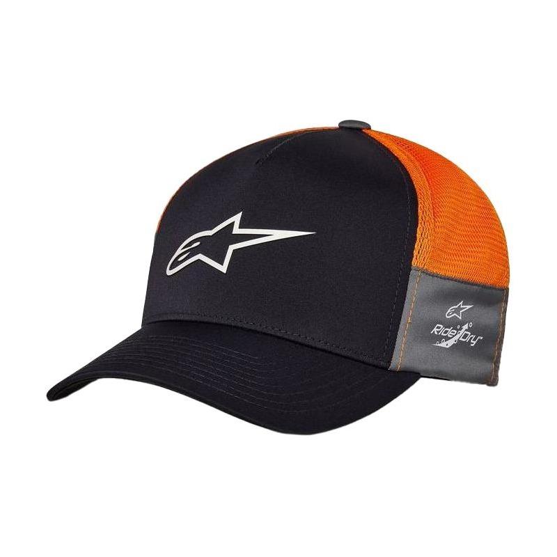 Casquette Alpinestars Foremost Tech navy/orange