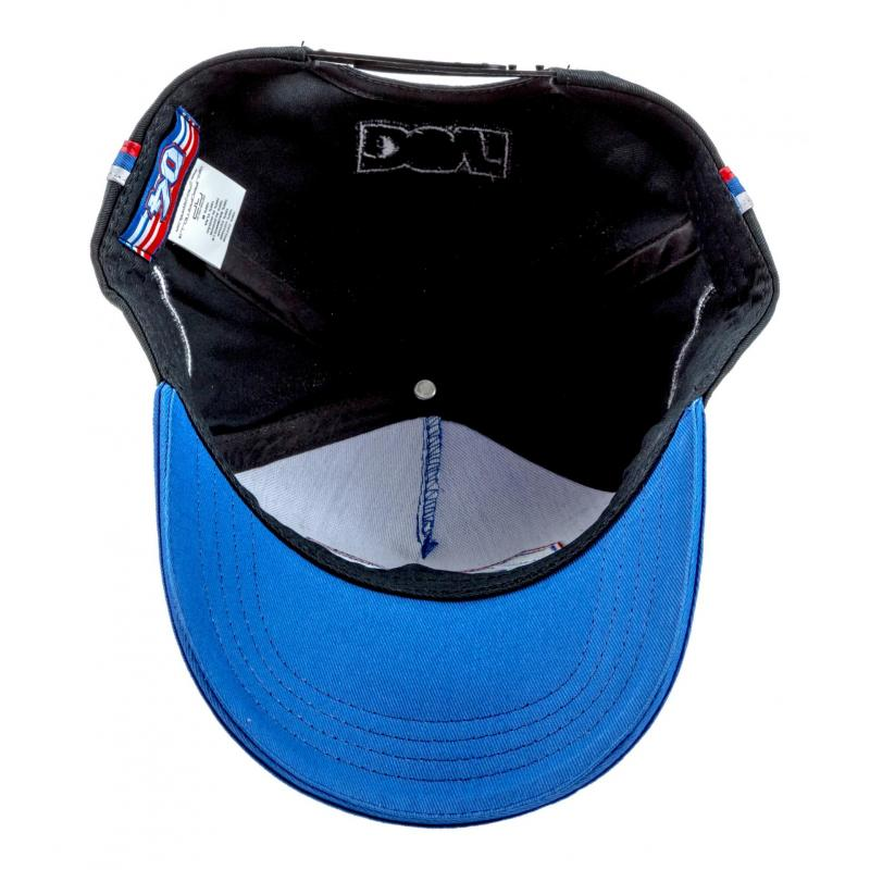 Casquette Baseball Andrea Dovizioso 04 gris/bleu - 4