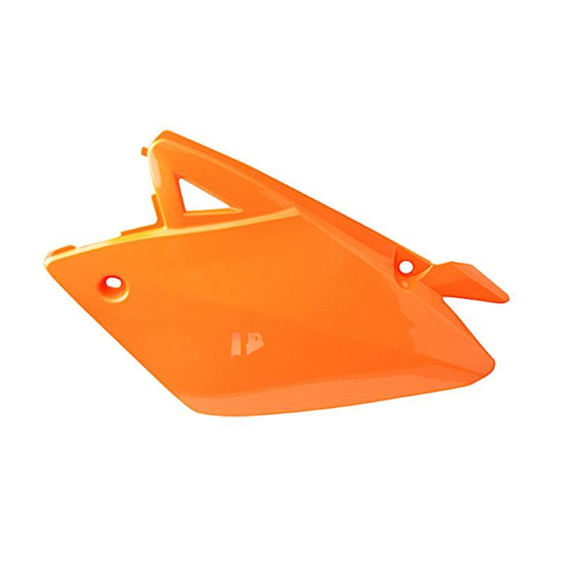 Coque arrière gauche Rieju 50 MRT / MRT Pro 09- orange