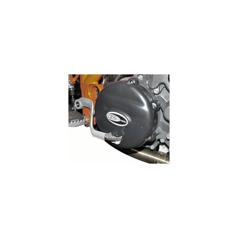 Couvre carter d'embrayage R&G Racing noir KTM 990 Super Duke 04-14