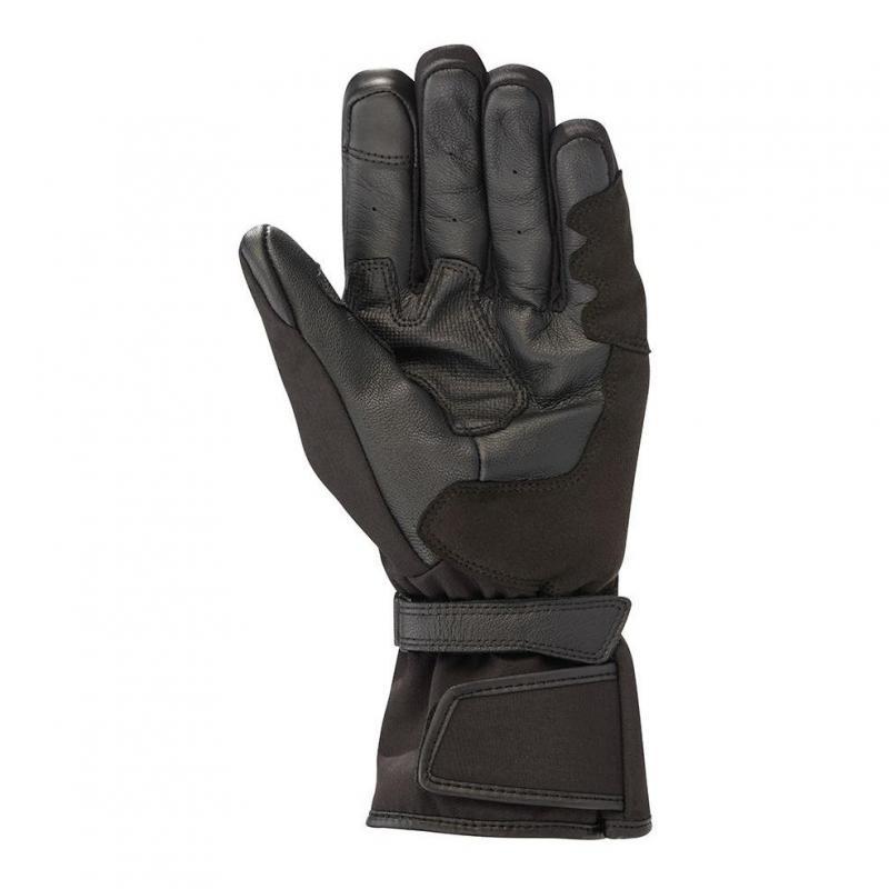 Gants cuir/textile Alpinestars Striver Drystar noir - 1