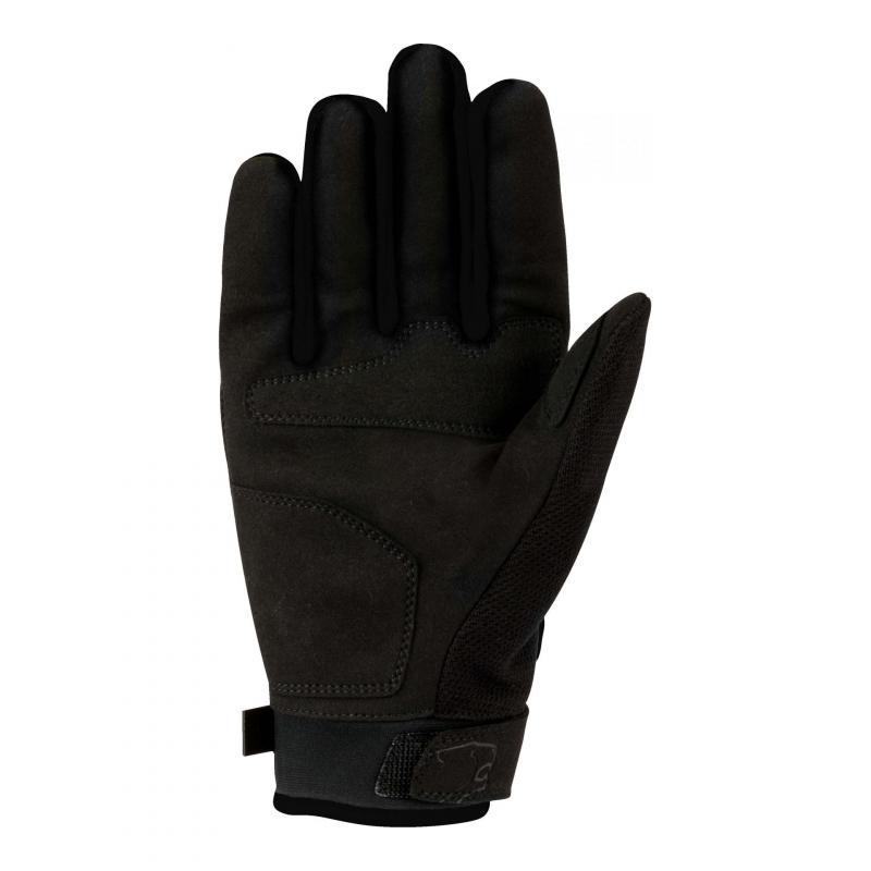 Gants textile Bering York noir - 1