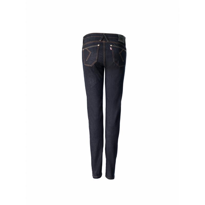 Jeans Blauer femme Scarlett brut - 1