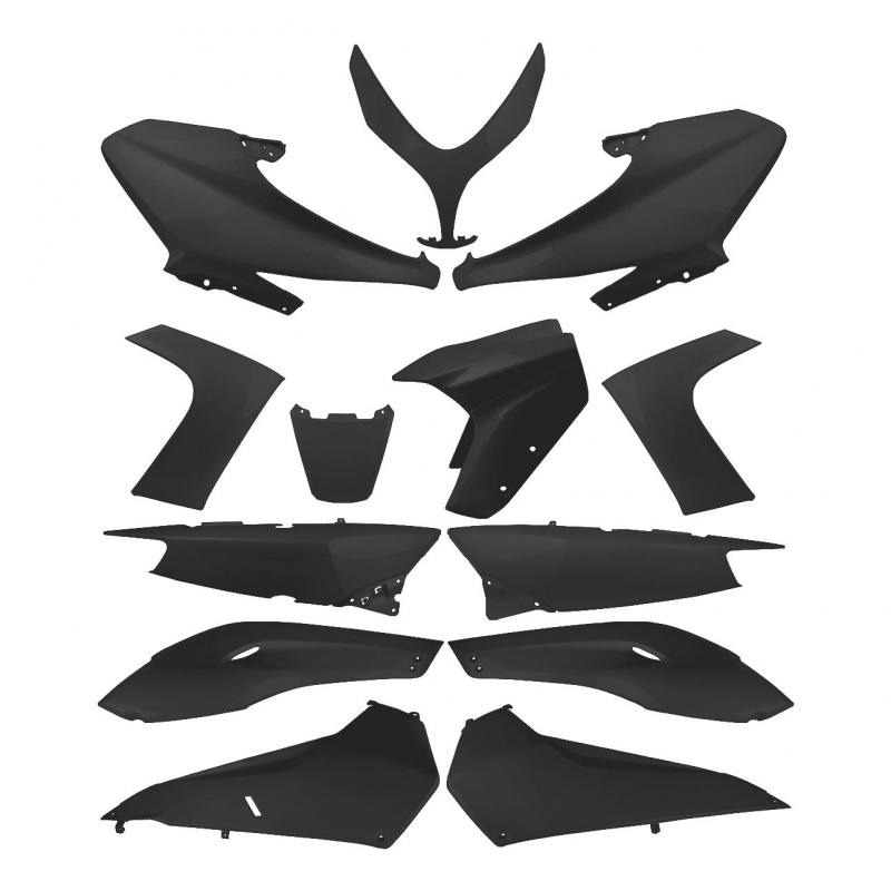 Kit habillage TNT Original Noir Mat T-Max 2008-12