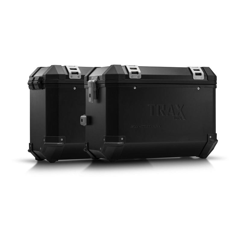 Kit valises SW-Motech Trax ION 45/37 litres noires support PRO Suzuki V-Strom 1050 2020